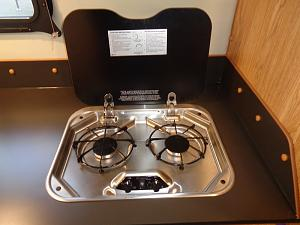 New cooktop with lid open with custom formica.jpg