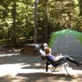 Lightning Lake Manning Provincial Park  Relaxing