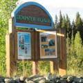 Starting point of the Dempster to Inuvik 710 km one way.